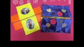 getlinkyoutube.com-계속 열리는 편지 카드 만드는!  Continued open letter card to make card. 빼빼로데이 선물! 발렌타인 데이에 선물! 화이트 데이에 선물