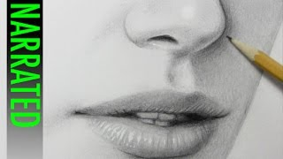 getlinkyoutube.com-How to Draw a Nose [Narrated Step-by-Step]