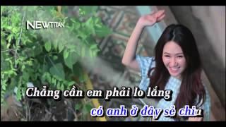 getlinkyoutube.com-[Karaoke HD] Làm Vợ Anh Nhé | Full Beat Gốc | Chi Dân | Newtitan