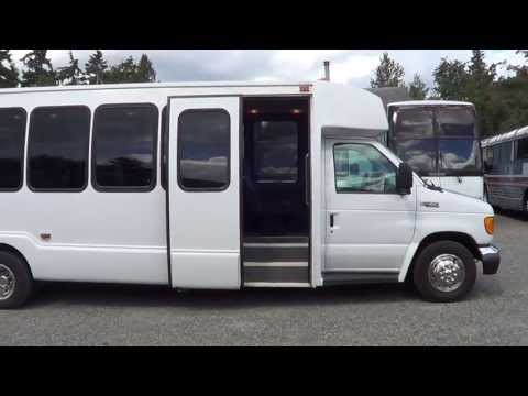 Northwest Bus Sales- 2004 Ford Krystal 25 Passenger Bus For Sale - S27826