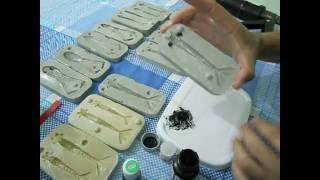 getlinkyoutube.com-Fazendo iscas de silicone na forma de resina