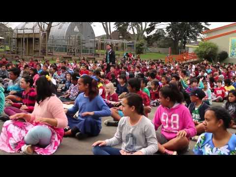 Sylvia Park Primary School Samoan sasa