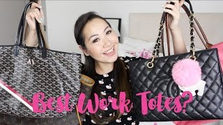 getlinkyoutube.com-Best Work Totes? LV, Goyard, Chanel and Longchamp Comparison