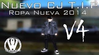 Nuevo Cj blanco HD y Prendas Nuevas para T.I.P V4 Gta san andreas EmineMods 2014
