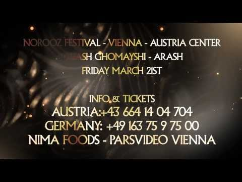 SIAVASH GHOMAYSHI & ARASH :: VIENNA - AUSTRIA CENTER :: MARCH 21ST