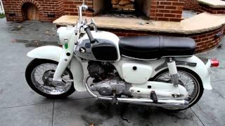 """getlinkyoutube.com-1964 Honda CA95 (Benly or """"Baby Dream"""")"""