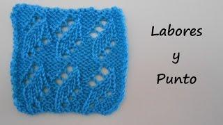 getlinkyoutube.com-Aprende a tejer punto calado lateral en dos agujas