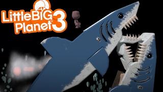 getlinkyoutube.com-LittleBIGPlanet 3 - JAWS EVERYWHERE!!! [Playstation 4]