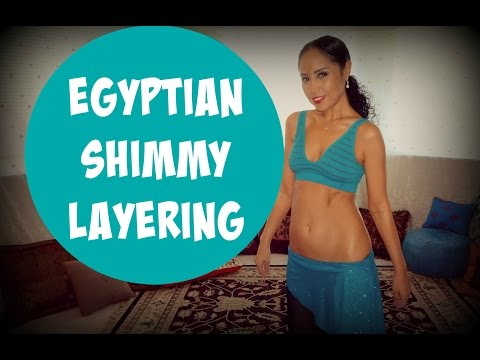Egyptian shimmies: how to layer Egyptian shimmies - part 2