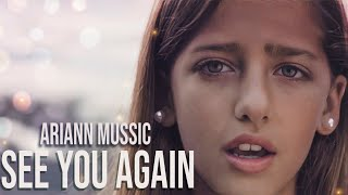 getlinkyoutube.com-Wiz Khalifa - See You Again ft. Charlie Puth  Furious 7 -by 9 years old ARIANN cover - Subtitulada