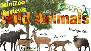 getlinkyoutube.com-CollectA 2016 Wild Animals