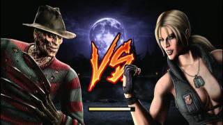 getlinkyoutube.com-Mortal Kombat (2011) Freddy Krueger Playthrough part 1/2
