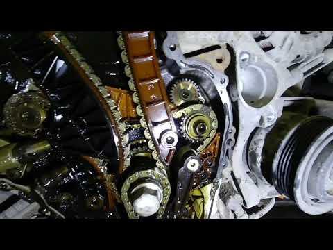 Audi A6 2012 CDNC метки цепи грм