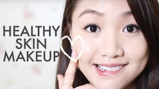 getlinkyoutube.com-🎃偽皮膚又靚又光澤 Healthy Skin Makeup  | Pumpkin Jenn🎃