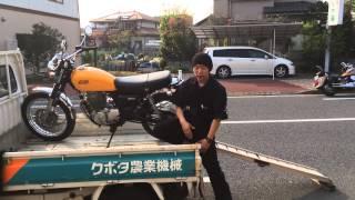 getlinkyoutube.com-車(軽トラ)へのバイクの積み方・降ろし方講座