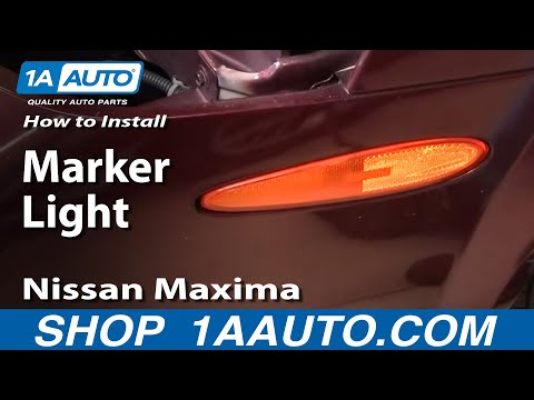 Marker Light Replace Change Nissan Maxima 00-03 - 1AAuto.com