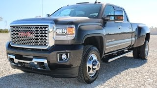 getlinkyoutube.com-2016 GMC Sierra 3500HD Denali DRW 4X4 Iridium Metallic Crew Cab Call 855-507-8520 for details