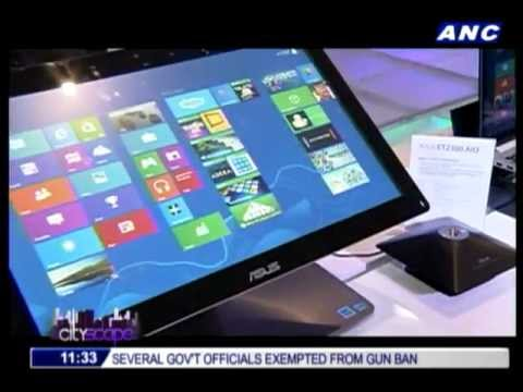 Asus unveils new touch-screen product line