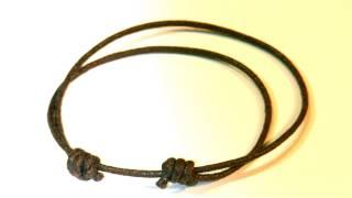 Beading ideas - How to make a Sliding knot