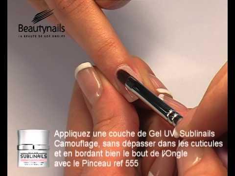 Gel UV Sublinails et French Manucure sur Ongles Naturels
