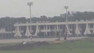 getlinkyoutube.com-PIA Landing on Hojrot Shah Jalal Int. Airport Dhaka
