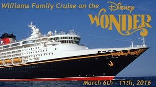 getlinkyoutube.com-Disney Wonder Cruise March 2016