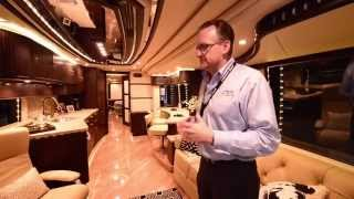 getlinkyoutube.com-The 2.5 Million Dollar Motorhome ~ Liberty Coach ~ Full Tour By G & Owner Of Company