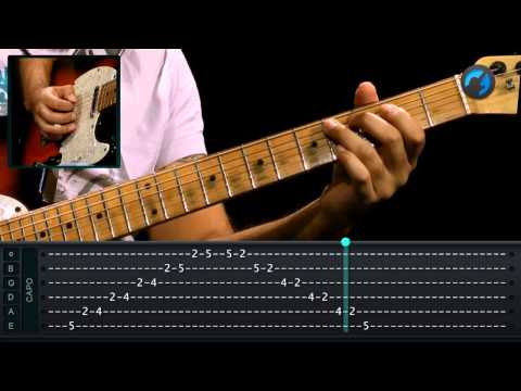 Cromatismo em Blues - (aula de guitarra)