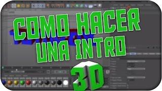 getlinkyoutube.com-[Tutorial] Como hacer una intro 3D basica Con efectos [C4D] [AE]