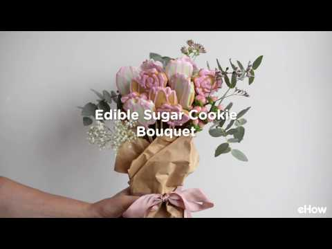 How to Make an Edible Sugar Cookie Bouquet