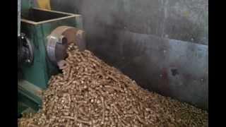 getlinkyoutube.com-pellet 12mm z brykieciarki BT60