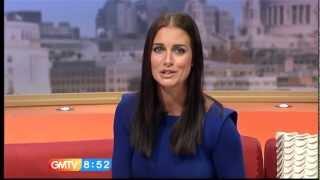 getlinkyoutube.com-Kirsty Gallacher Pokies (Soft Nipples Go Hard On Live TV)