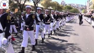 getlinkyoutube.com-Academia Politécnica Naval, desfile en Valparaíso, 18 de septiembre de 2013