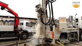 getlinkyoutube.com-Fraste MULTIDRILL XL MAX at work, water well Drilling Rig