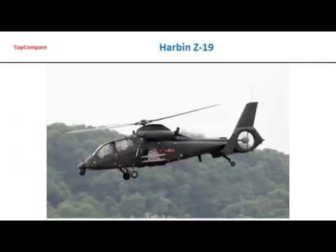 Harbin Z-19, Attack Helicopter Full Specs Comparison