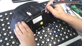 getlinkyoutube.com-Zerlegen einer Tachoeinheit BMW X5 E53 zur Tachoreparatur