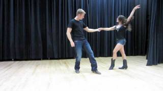 getlinkyoutube.com-Country Swing Dancing - Tricks Flips Aerials & Dips
