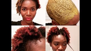 getlinkyoutube.com-How to Apply Henna Treatment on Natural 4C Hair