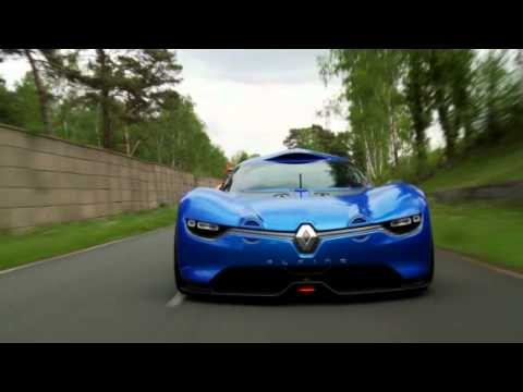 Renault Alpine A110-50 on track (Motorsport)