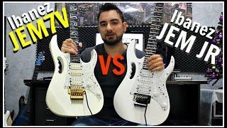 Ibanez JEM7V (Japan) vs JEM JR (Indonesia) | Comparison & Review!