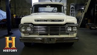 getlinkyoutube.com-American Restoration: Bodie's '59 Ford F100 | History