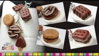 Donut, Biscuit, Cookie, Chocolate palette polymer clay tutorial / Dona, Galleta, paleta de chocolate