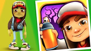 getlinkyoutube.com-ZOMBIE JAKE AND MONSTER BOARD! Subway Surfers: HALLOWEEN EDITION (New Orleans)