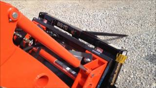 getlinkyoutube.com-Front Loader Hydraulic Quick Attach Coupler