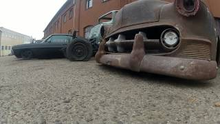 getlinkyoutube.com-Nephilim kustoms devil's garage choptop kustom  rat rod bagged blown nitrous airride