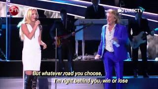 getlinkyoutube.com-FOREVER YOUNG  - Rod Stewart and daughter Ruby DUET
