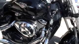 getlinkyoutube.com-Suzuki Boulevard M50 - Vance & Hines Cruzers - Power Commander - K & N Air Filter