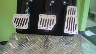 getlinkyoutube.com-Pedal Caseiro para PC (Tutorial) Acelerador freio e embreagem