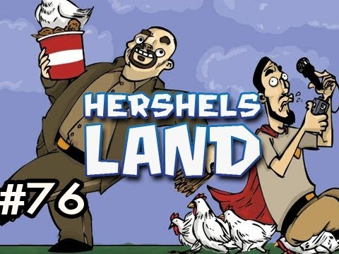 Minecraft: Hershels Land w/Nova & Dan Ep.76 - HOW TO BUILD A ROOF