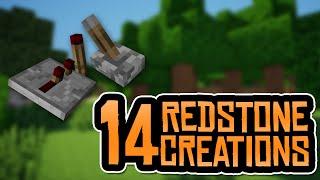 getlinkyoutube.com-14 REDSTONE CREATIONS!! MCPE 0.14.0 Redstone Creations Map - Minecraft PE (Pocket Edition)